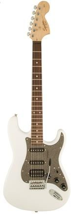 Fender Sq Aff Strat HSS LRL OWT Electric