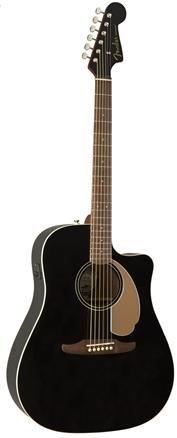 Fender Redondo Player Jet Black WN Ac/El