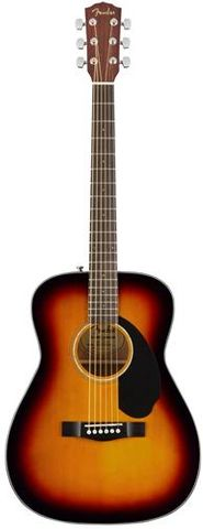 Fender CC60s Sburst WN Concert Acoustic