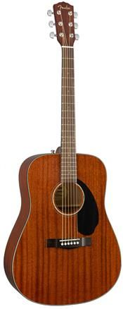 Fender CD60S AL Mah WN Dreadnought Gtr