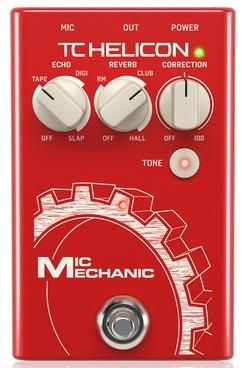 TC Mic Mechanic V2 Vocal Effects Pedal