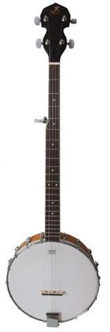JR 5 String Banjo 18 Brkt Remo HD Matte