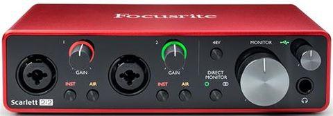 Scarlett 2I2 USB Audio Interface