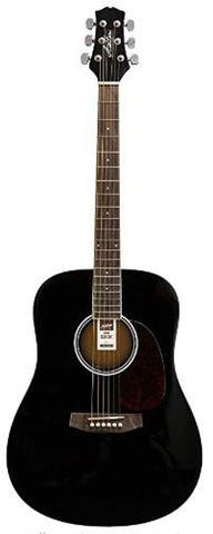 Ashton D20 BK Acoustic Guitar