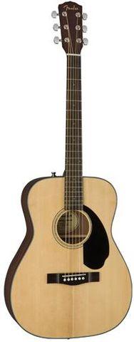 Fender CC60S NATURAL Concert Guitar