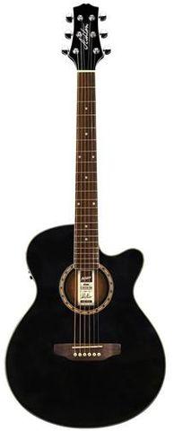 Ashton SL29CEQBK Slimline Ac/El Guitar