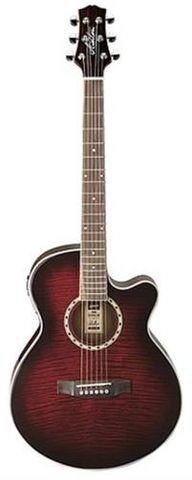 Ashton SL29CEQWRS Slimline Ac/El Guitar
