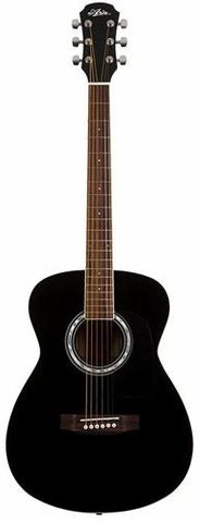 Aria F15 BLACK Folk Size Guitar