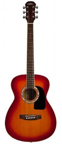 Aria F15 CHERRY Folk Size Guitar