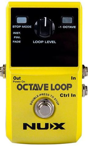 NUX Octave Loop Effects Pedal