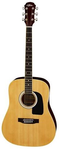 Aria AW15 NATURAL Dreadnought Guitar