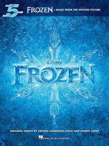 Frozen Five Finger Piano Songbook