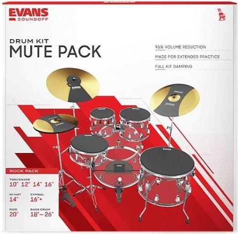 Evans Soundoff Rock Drum Mute Set