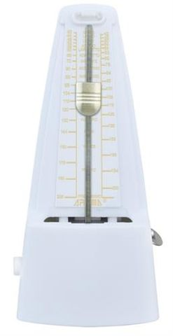 Aroma AM707 WHITE Mechanical Metronome