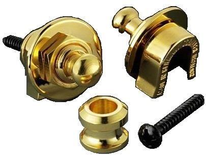 Straplock by Schaller - Gold (Pair)