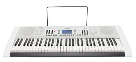 Crown CK63 WHITE 61 Key Port Keyboard