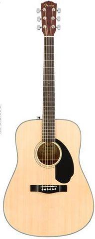 Fender CD60S NAT WN Dreadnought Guitar