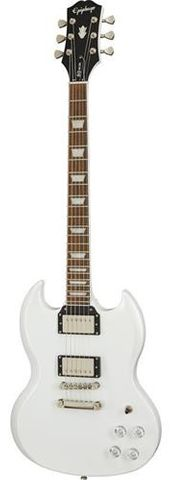 Epiphone SG Muse Pearl Wht Met Electric