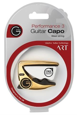 G7 Performance 3 GOLD Guitar Capo