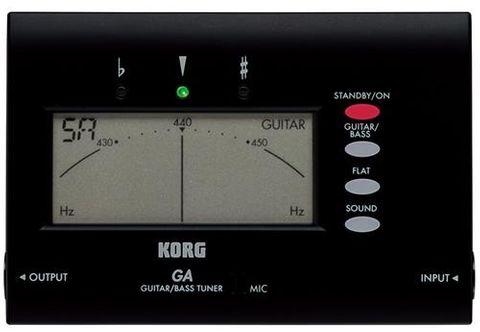 Korg GA40BK Guitar and Bass Tuner
