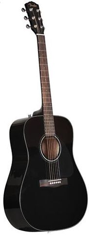 Fender CD60 BLACK Dreadnought Acoustic