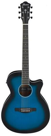 Ibanez AEG7 TBO Ac/El Guitar
