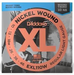 D'addario XLL110W EL Wound 3rd Elect Str