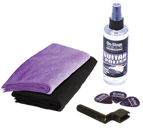 On Stage Guitar Care Kit