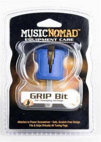 Music Nomad Grip Bit Peg Winder Attachmt