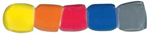CPK Bag of 5 Coloured Mic Windshields