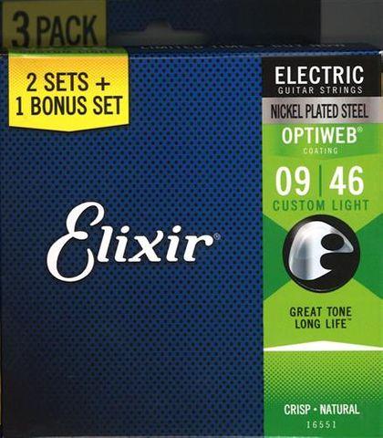 Elixir Optiweb Electric 9-46 3 Pack