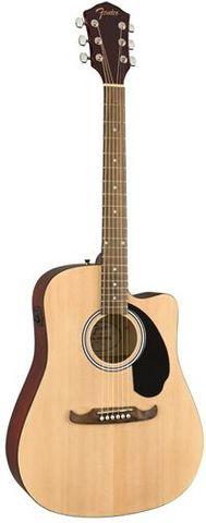 Fender FA125CE NAT Dnought WN Ac/E/ Gtar