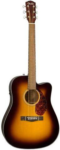 Fender CD140SCE SB Dreadnought Guitar