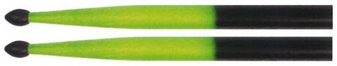Total Perc GREEN/BLK 5A NT Drum Sticks