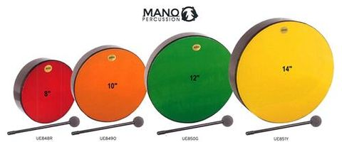 Mano 10in ORANGE Hand Drum