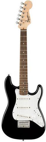 Fender Sq Mini Strat LRL Blk Guitar