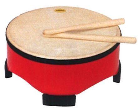 Mano 10in RED Floor Drum
