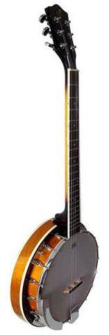 JR BJ186 6 String Banjo Gloss Finish