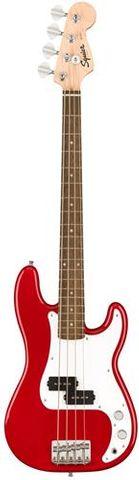 Fender SQ Mini P Bass LRL DKR Guitar