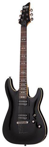 Schecter OMEN 6 BLACK Guitar