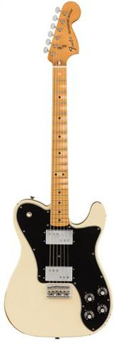 Fender Road Worn 70s Tele Dlx OLW Guitar