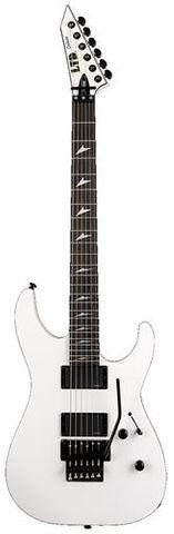 ESP Ltd M1000 Ebony Snow White Electric