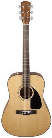 Fender CD60 NAT WN Dreadnought Guitar