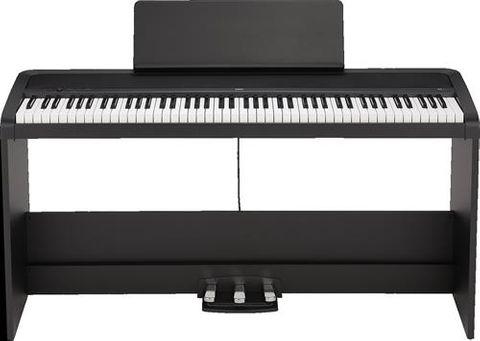 Korg B2 Black Digital Piano with Stand