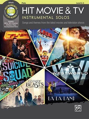 Hit Movie & TV Instr Solos for Flute