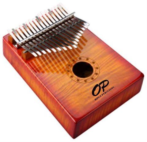 Opus 17 Key Kalimba Curly Maple