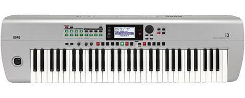 Korg I3 61 Key Workstation - Silver