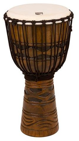 Toca 12 Inch African Mask Djembe