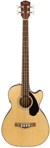Fender CB-60SCE Acoustic Bass Guitar NAT