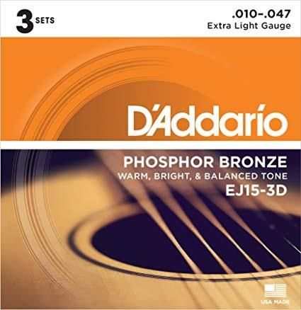 D'Addario 3D EJ15 Acoustic Guitar String